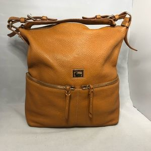 Dooney & Bourke Large tan leather